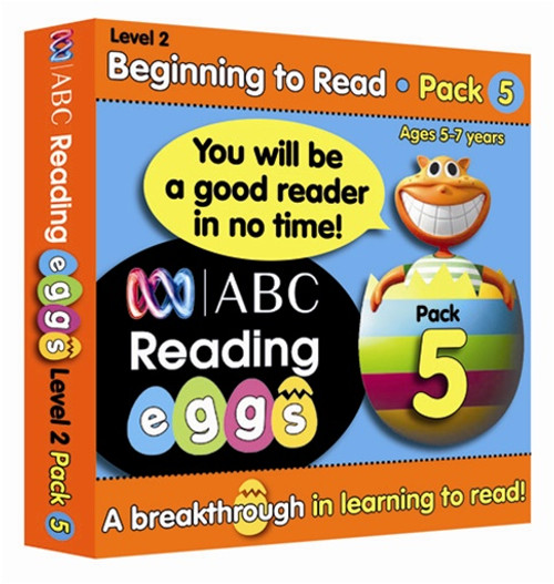 ABC Reading Eggs - Beginning to Read - Book Pack 5