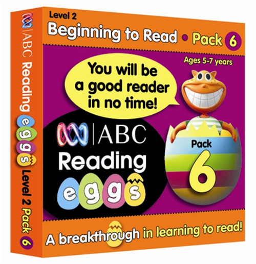 ABC Reading Eggs - Beginning to Read - Book Pack 6