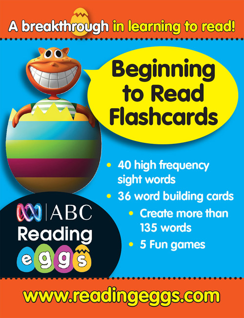 ABC Reading Eggs - Beginning to Read - Flashcards