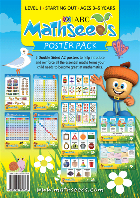 ABC Mathseeds - Poster Pack