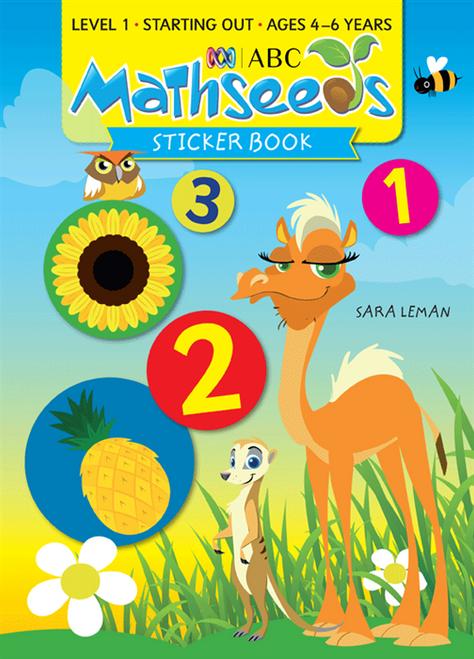 ABC Mathseeds - Sticker Book