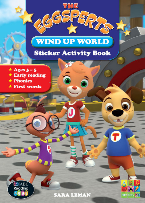 The Eggsperts - Sticker Activity Book - Wind Up World