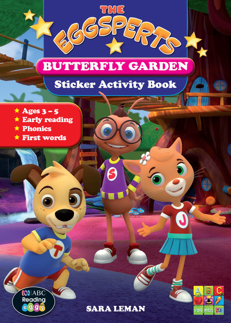 The Eggsperts - Sticker Activity Book - Butterfly Garden