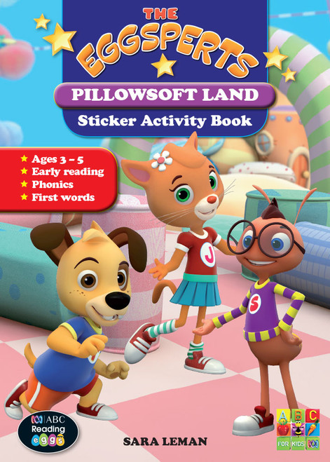 The Eggsperts - Sticker Activity Book - Pillowsoft Land
