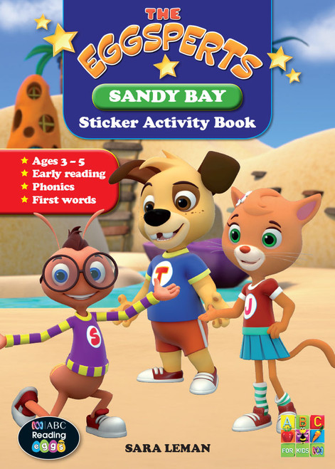 The Eggsperts - Sticker Activity Book - Sandy Bay