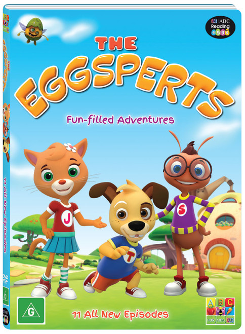 The Eggsperts - DVD 3D