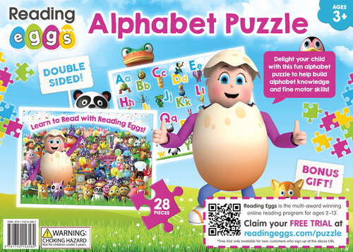 Alphabet Puzzle ABC Reading Eggs