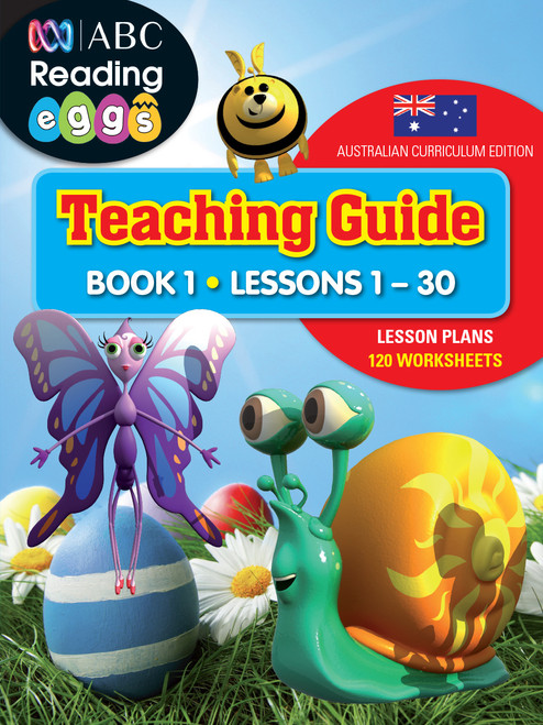 ABC Reading Eggs Teaching Guide Book 1 Cover