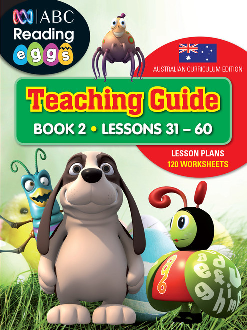 ABC Reading Eggs Teaching Guide Book 2 Cover