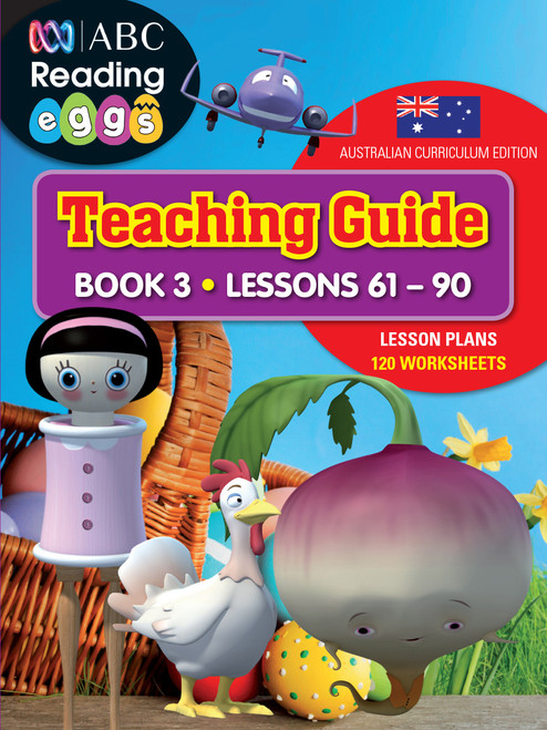 ABC Reading Eggs Teaching Guide Book Cover