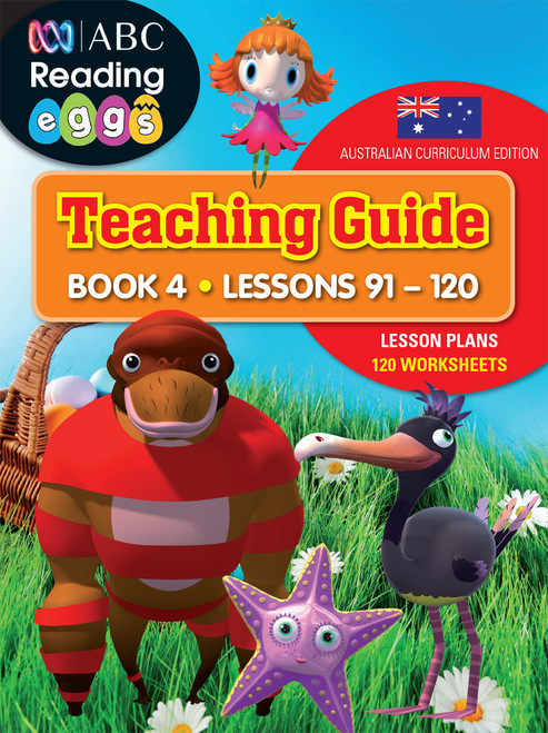 ABC Reading Eggs Teaching Guide Book 4 Cover