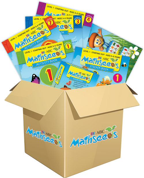 ABC Mathseeds Mega Book Pack