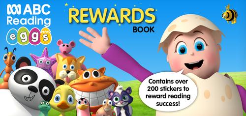 ABC Reading Eggs Rewards Sticker Book - Cover
