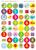ABC Mathseeds - Sticker Book Stickers