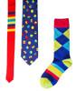 Bouncing Colors Tie & Sock Combo