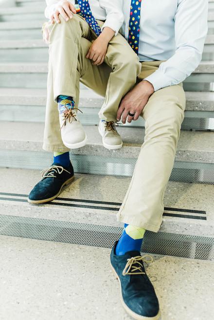 Bouncing Colors Sock - Child Medium