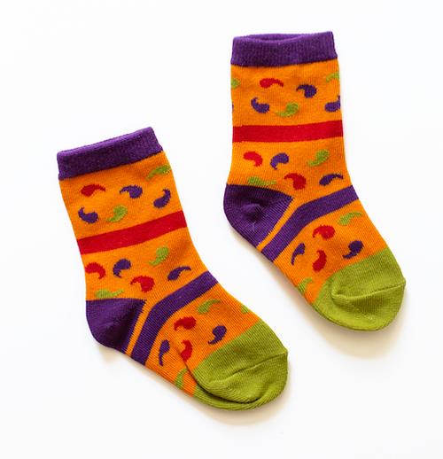 Paisley Sock  - Child XS