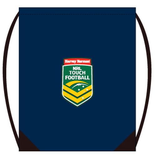 Touch Football Australia Gym sackpack - Navy