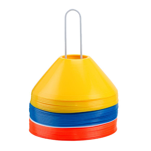 Steeden Cone Markers 6 cm (10 pack) - Red, Yellow, Blue, White