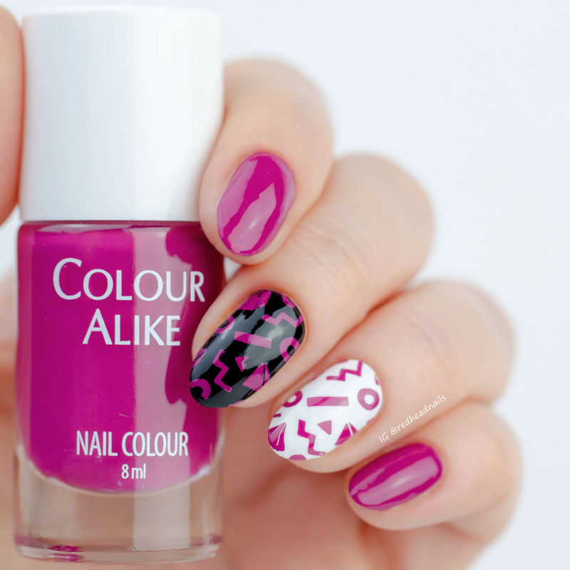 Colour Alike Good nail stamp polish, available in the USA exlusively ...