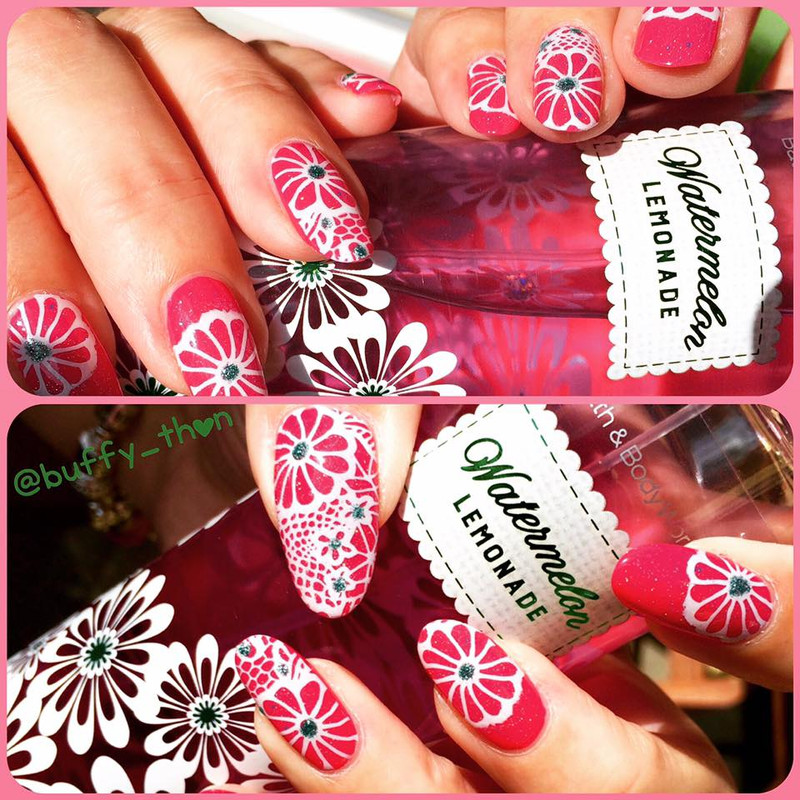Dixie Plates DP03 Lace Nail Stamping Plate Available In The USA And Canada At