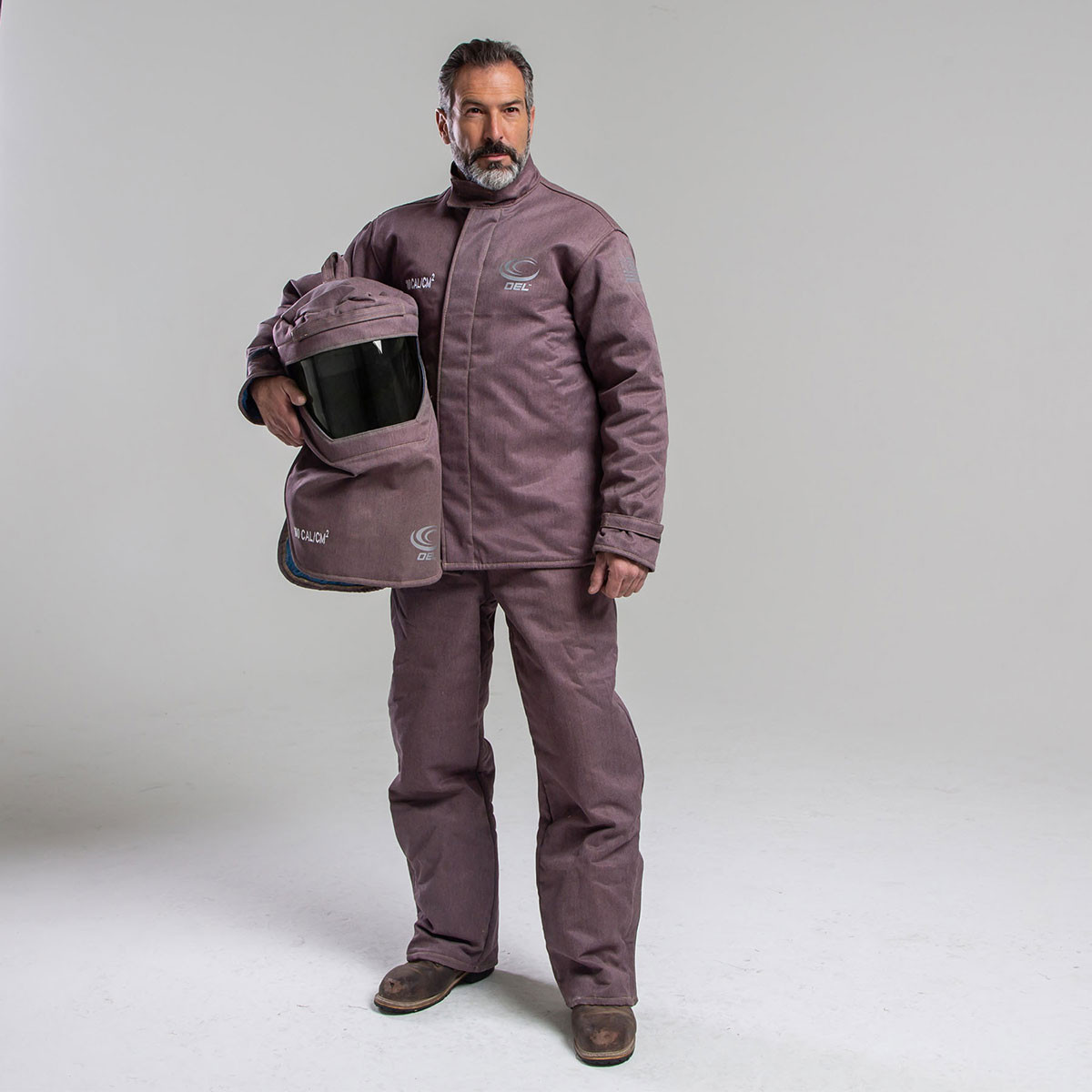 100 CAL Jacket and Bib Overalls Kit - (Without Gloves) with Switch Gear Hood w/ Dual Fan Units
