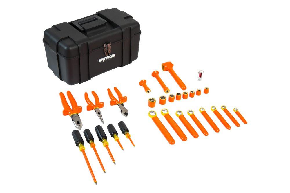 ELECTRICIAN'S TOOL KIT EXTRA 27 PCS