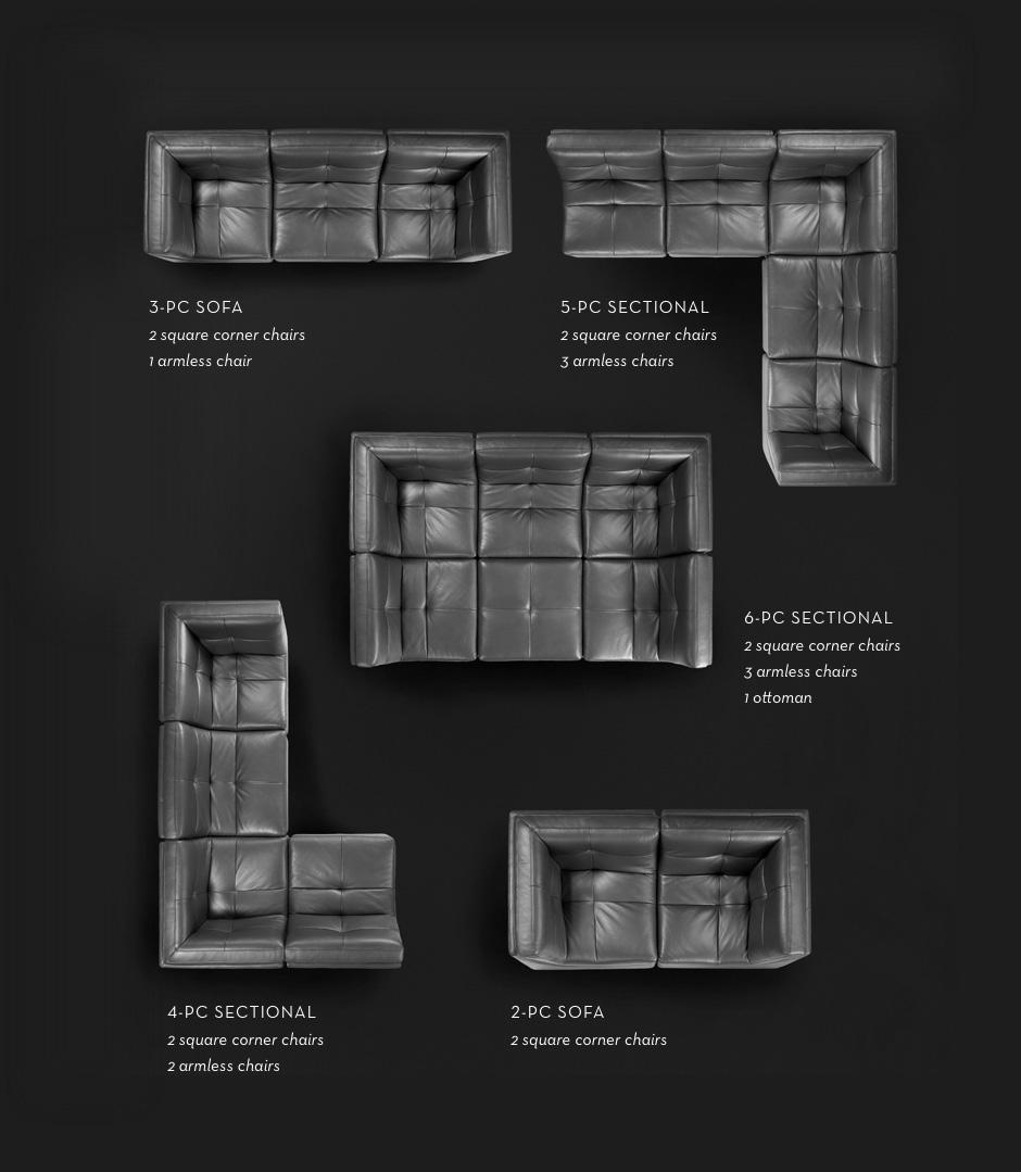 The convo modular sectional, shop now