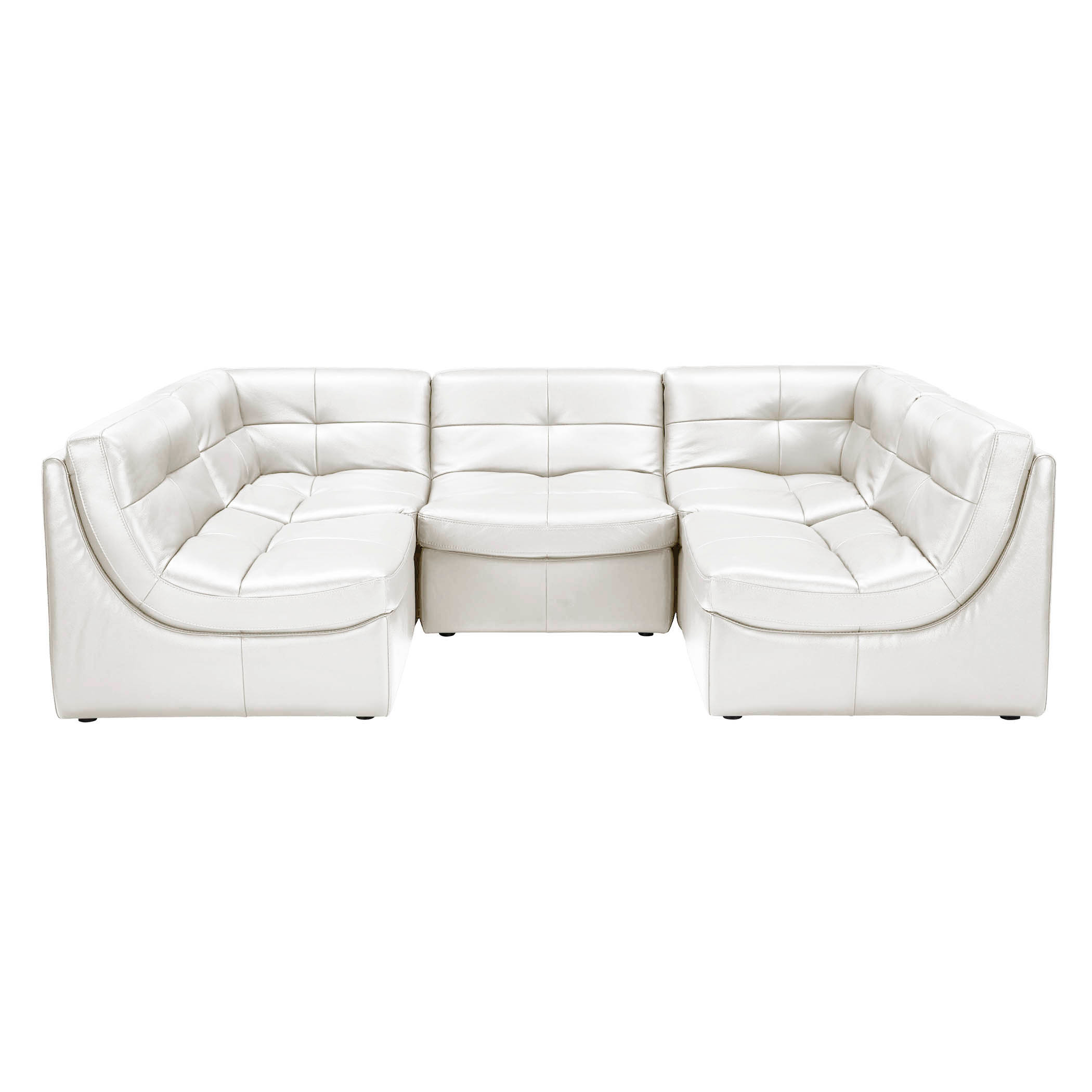 Convo Leather Sectional - Build Your Own