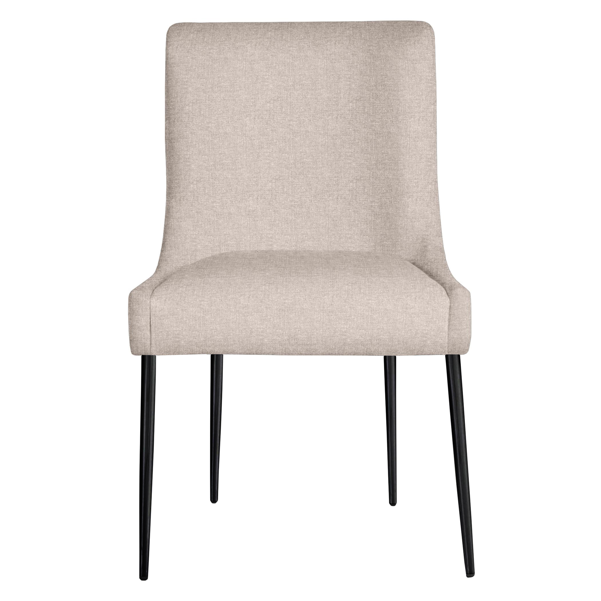 Elinor Dining Chair - Matte Black