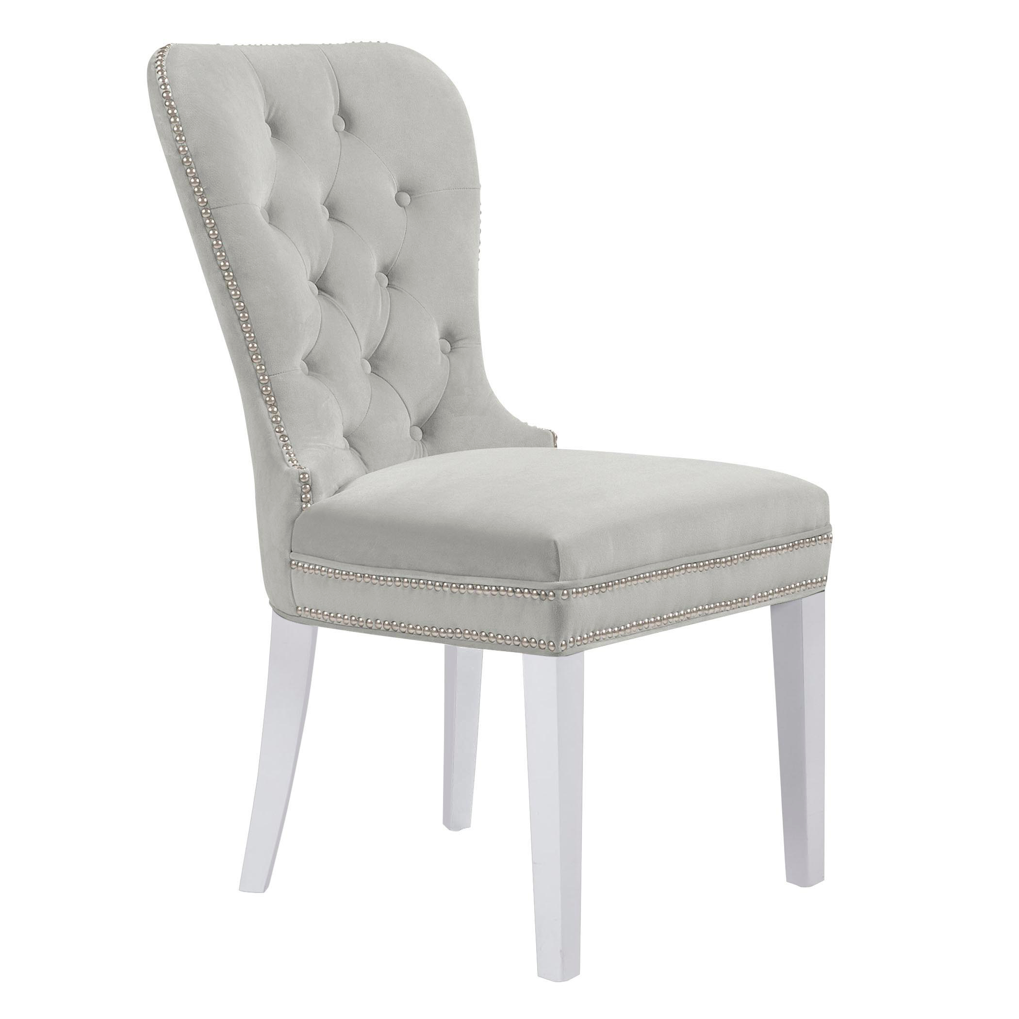Charlotte Dining Chair - High Gloss White
