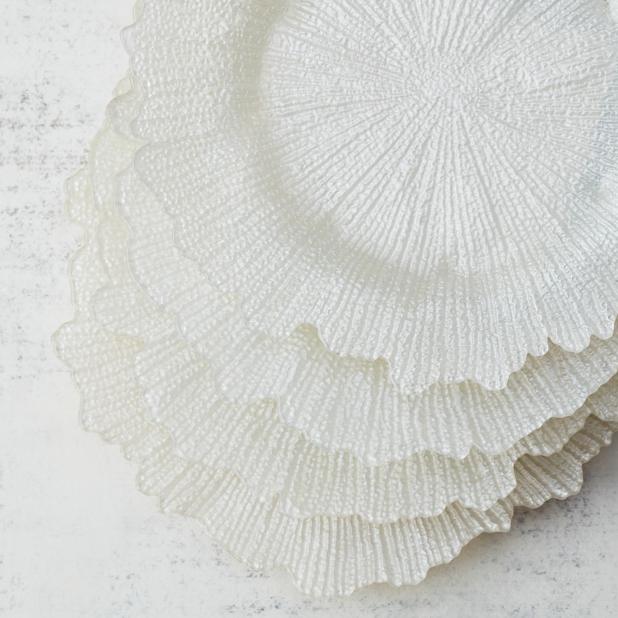 white - set of 4
