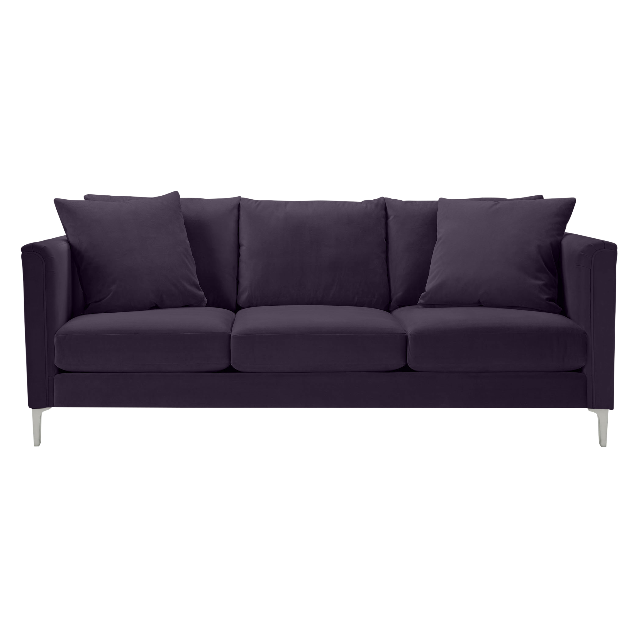 Details Soft Roll Arm Sofa