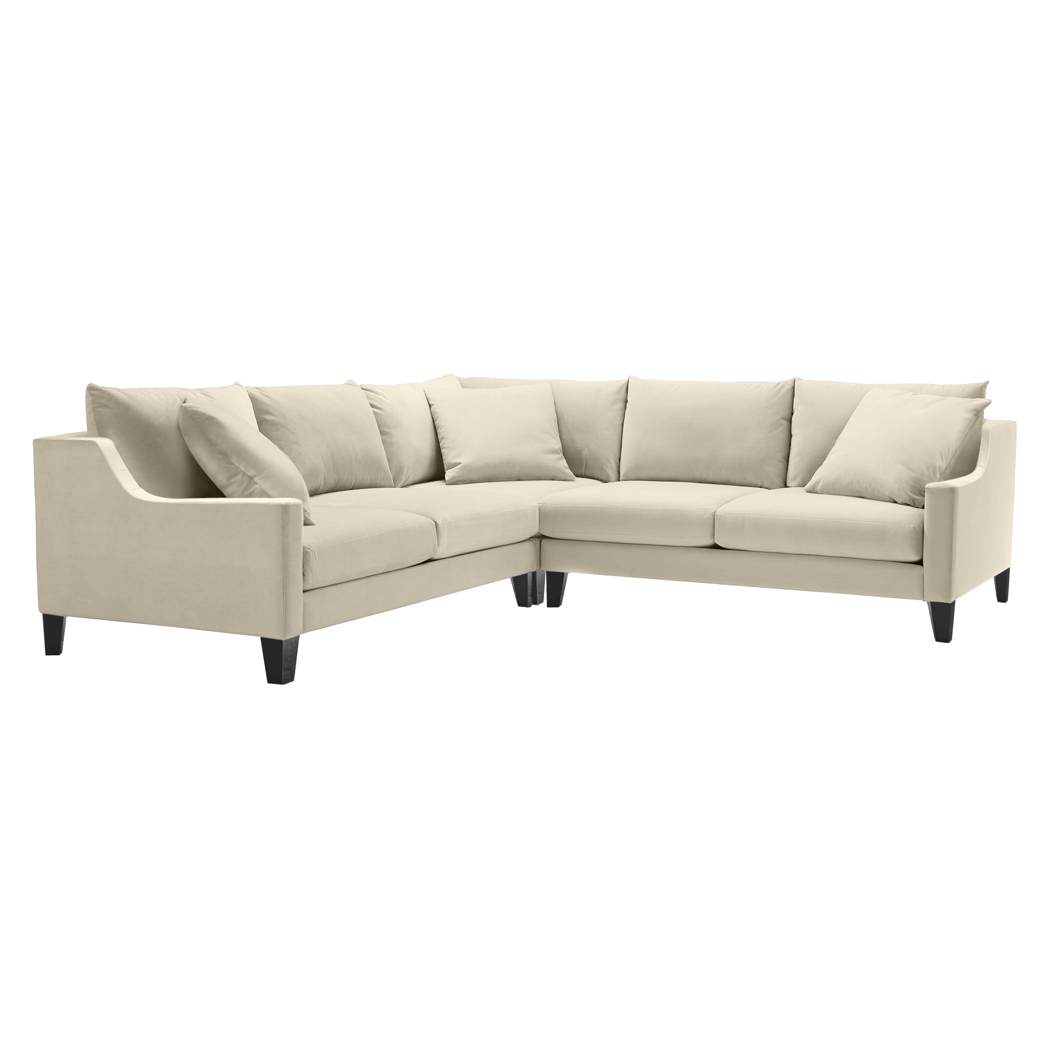 Details 3 PC Slope Arm Sectional