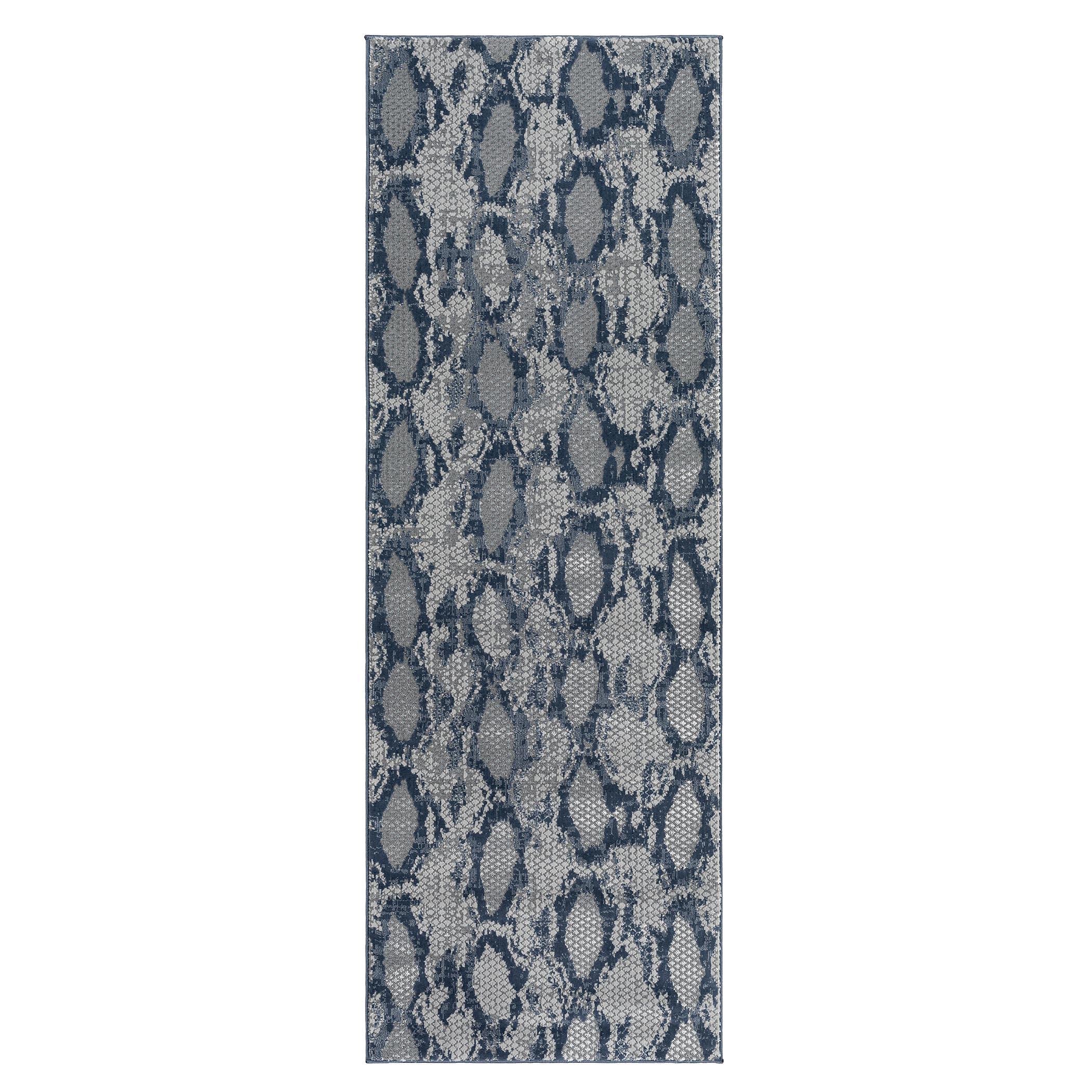Amaral Rug - Navy/Grey