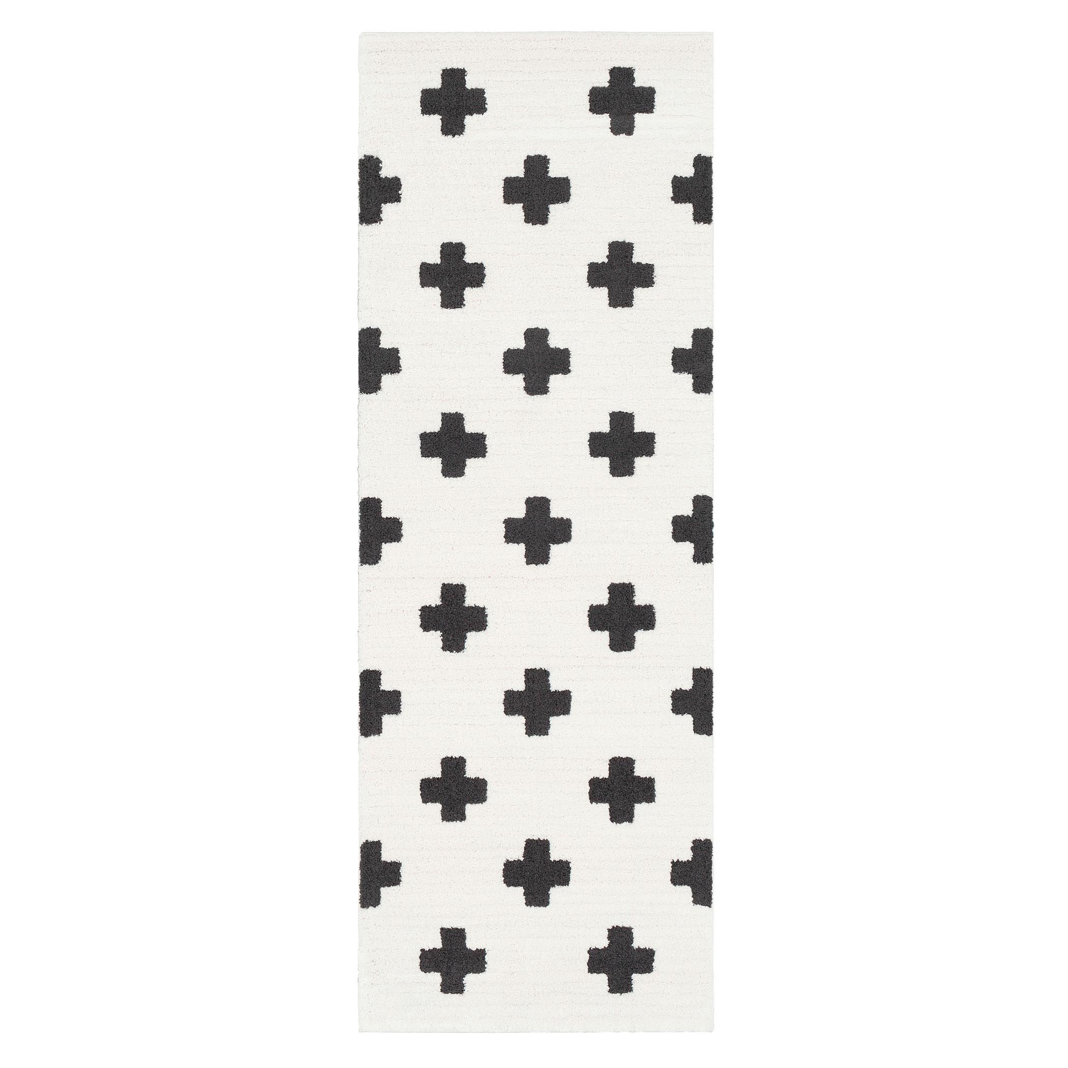 Amina Rug - White/Black