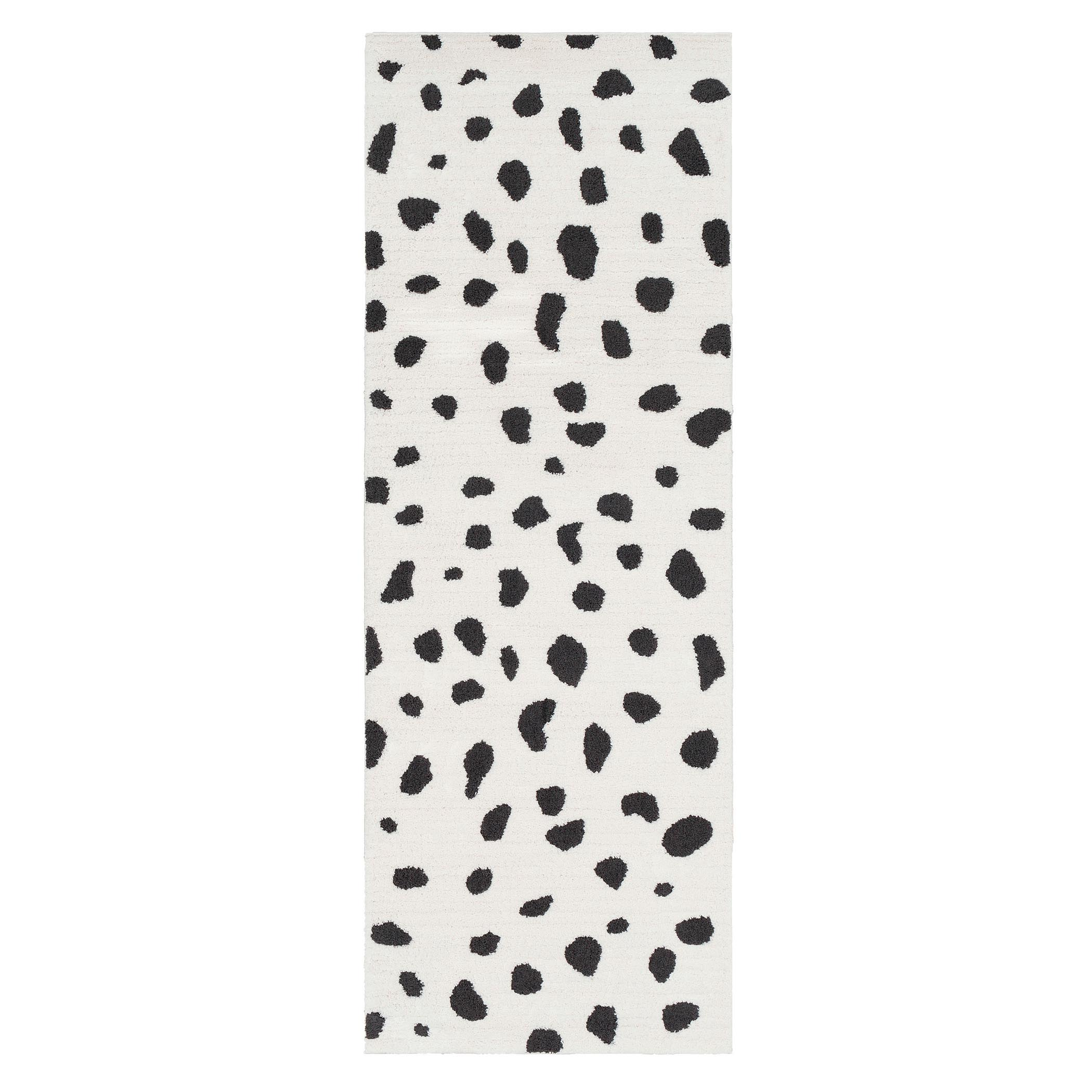 Nahla Rug - White/Black