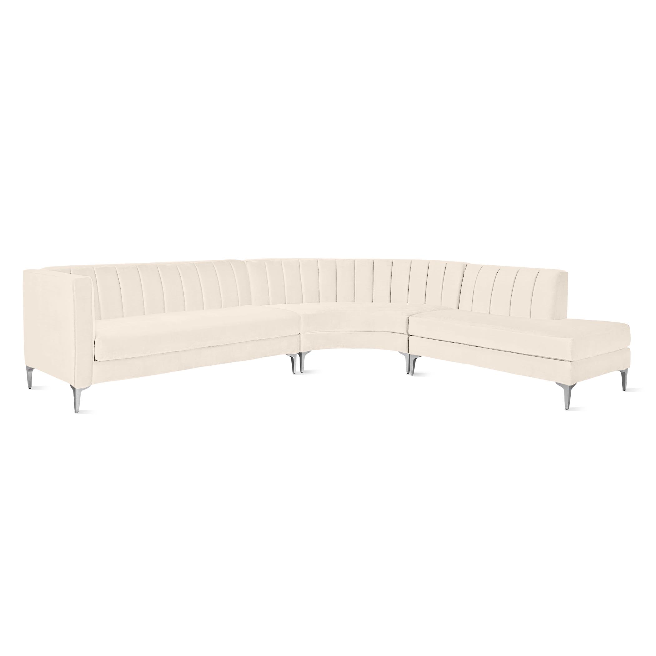 Crestmont Chaise Sectional - 3 PC