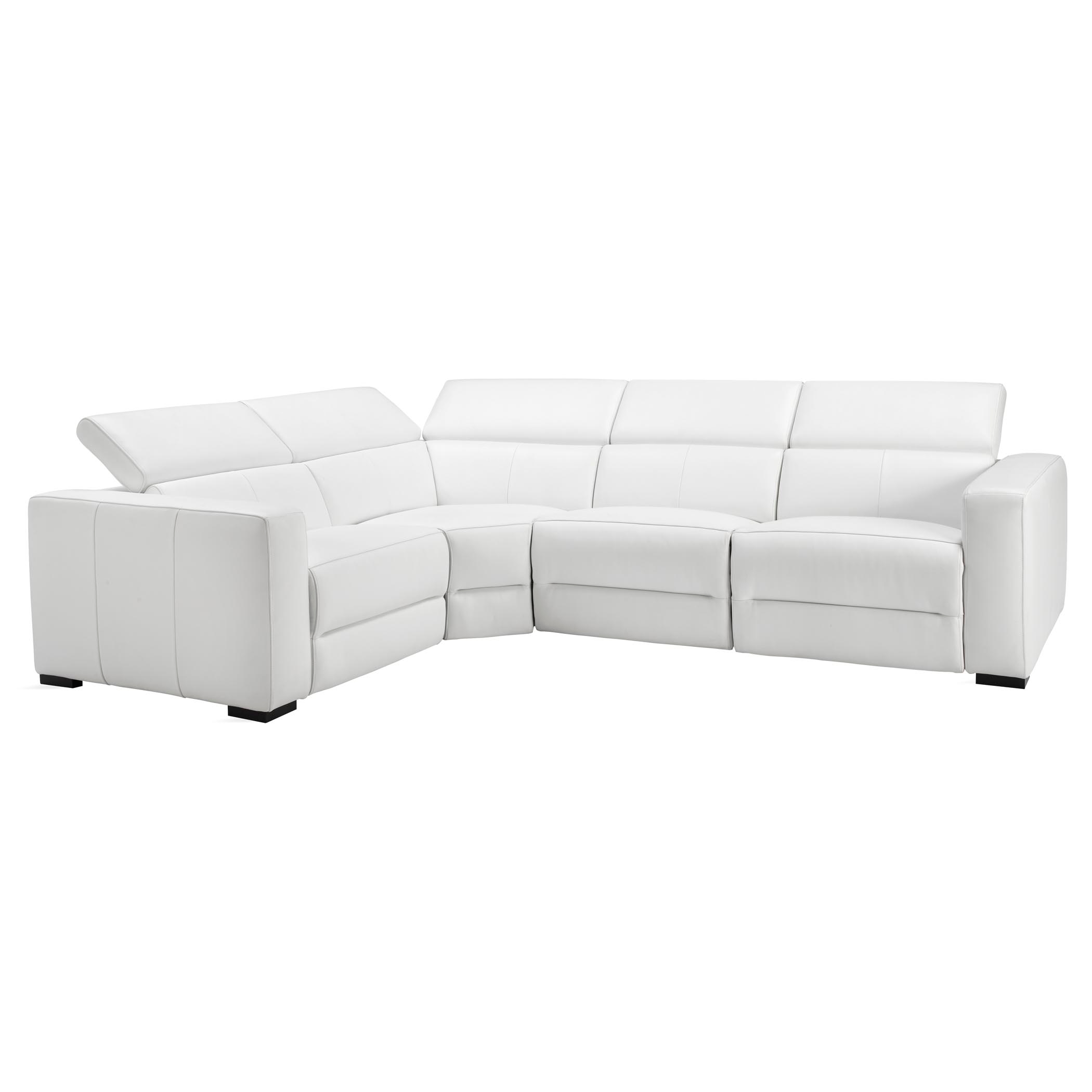 4 pc sectional - left arm facing