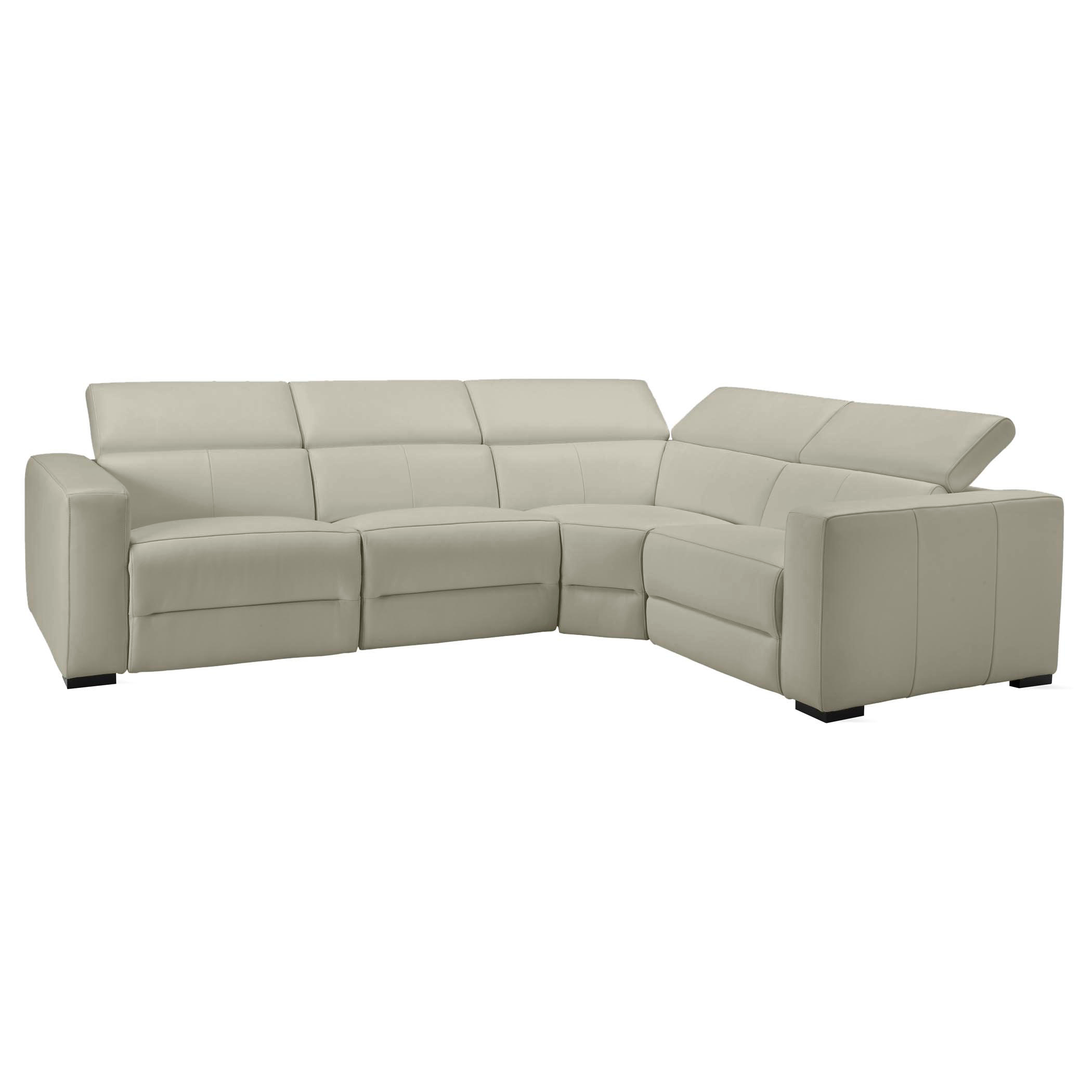 4 piece sectional - right arm facing (shown)