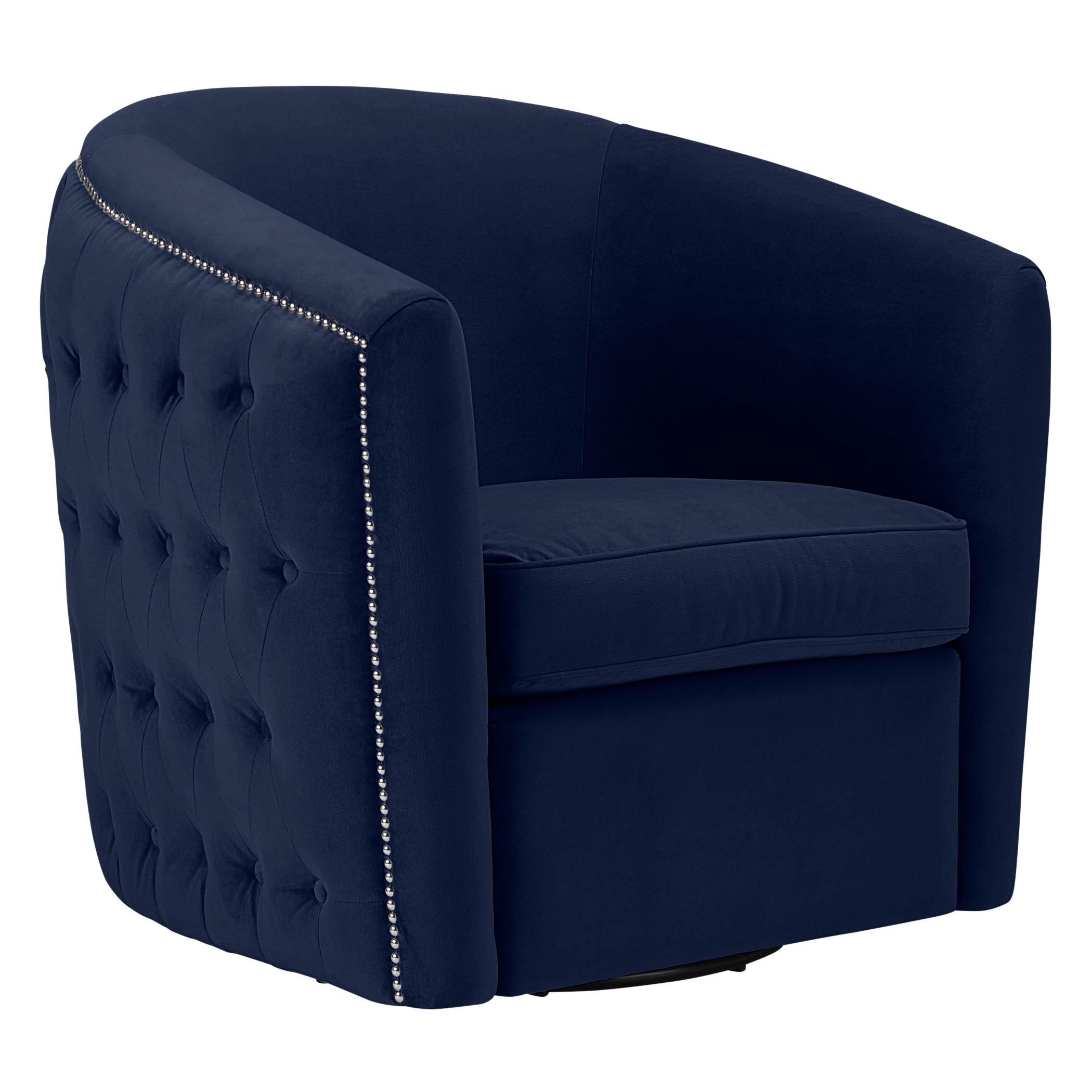 Aria Tufted Swivel Chair