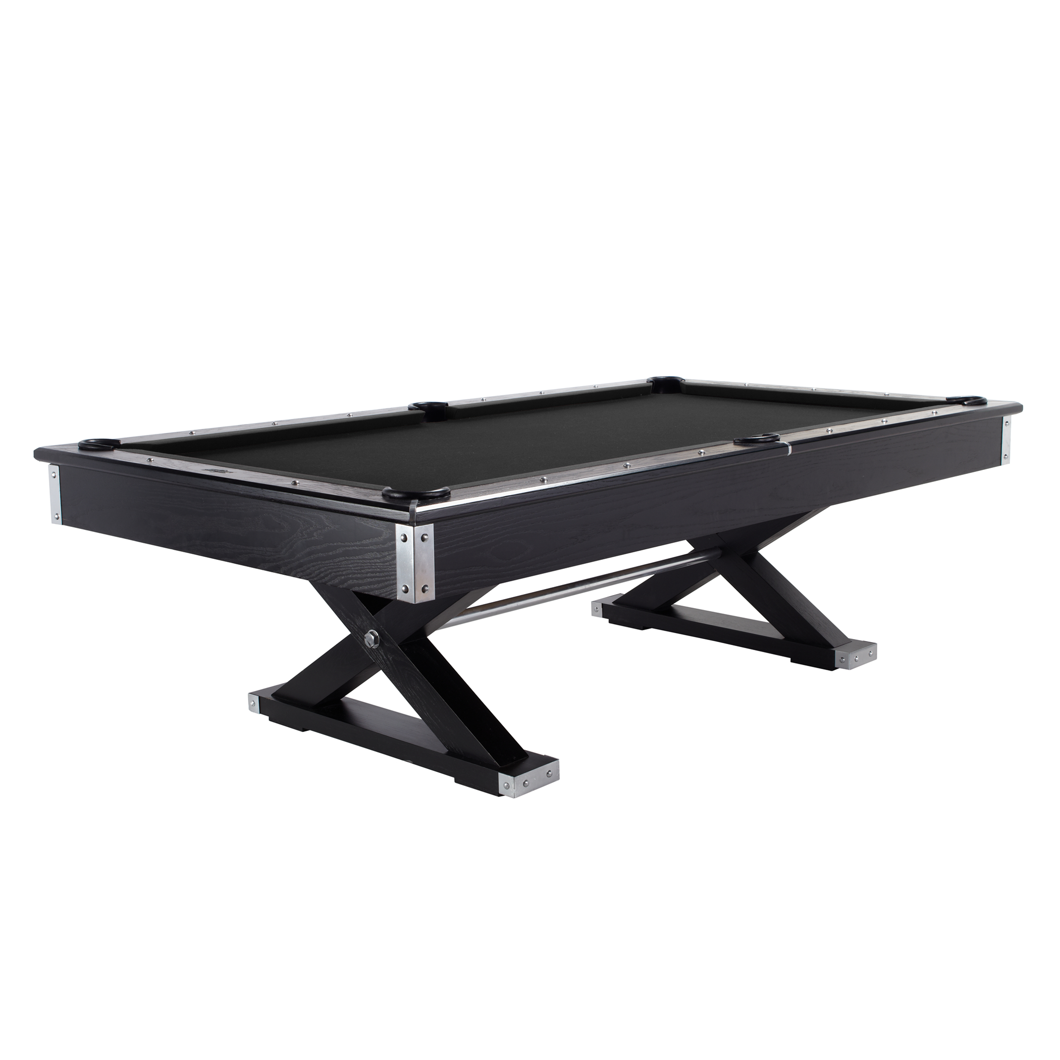 pool table - black top