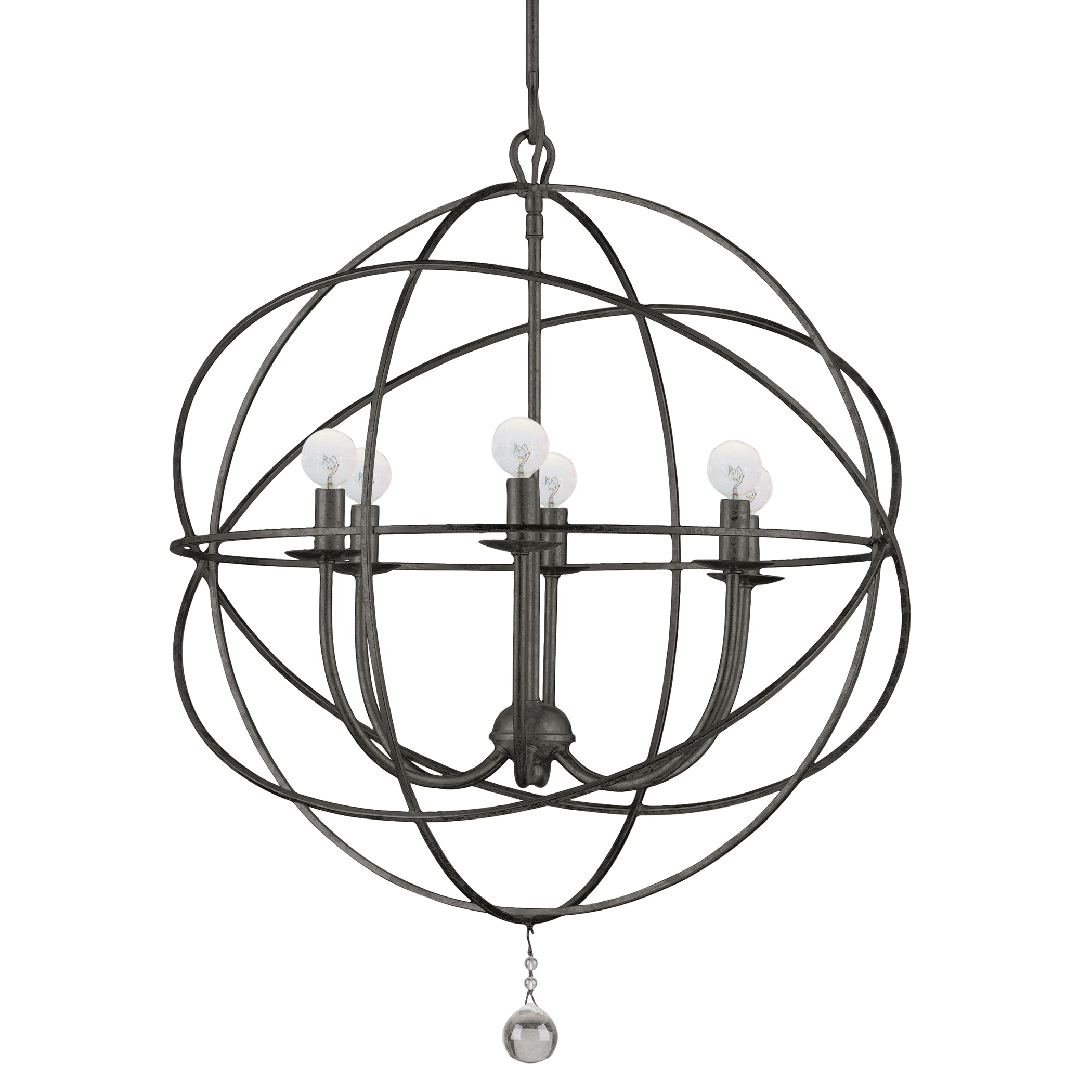 Eclipse Chandelier - English Bronze