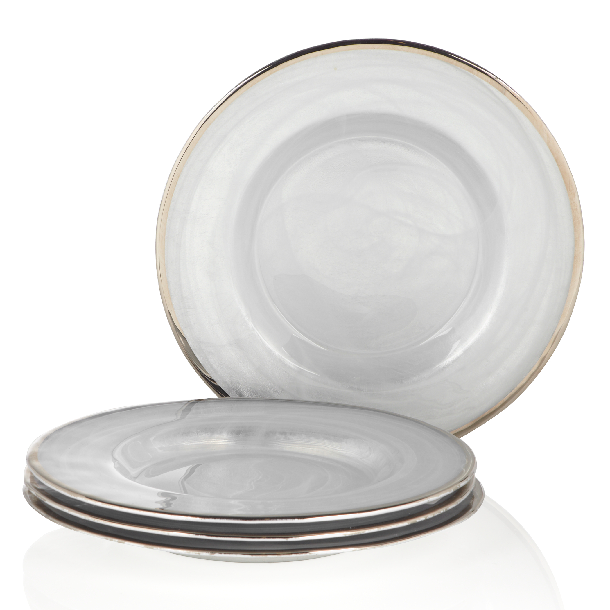 salad plate - set of 4