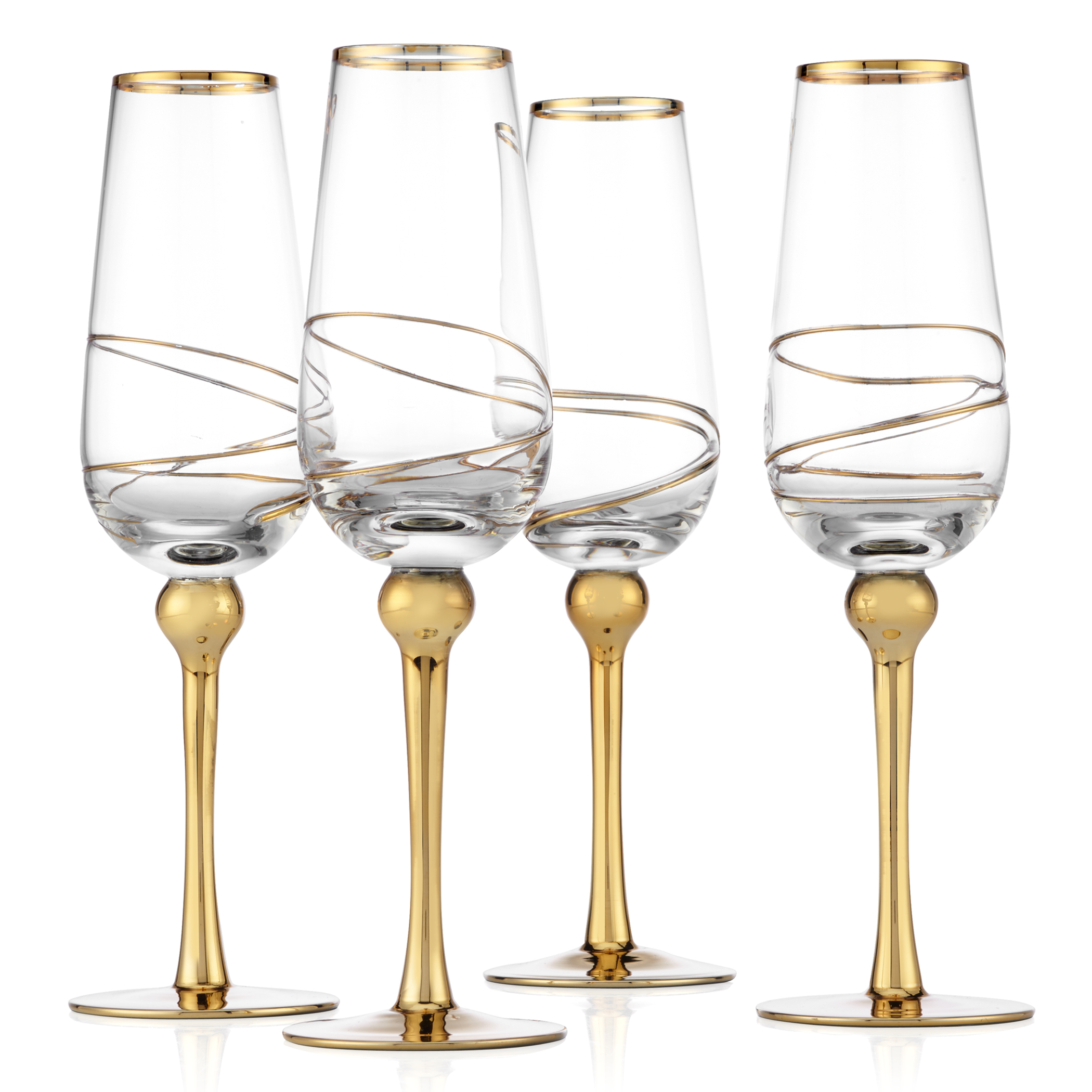 Olympia Stemware - Sets of 4