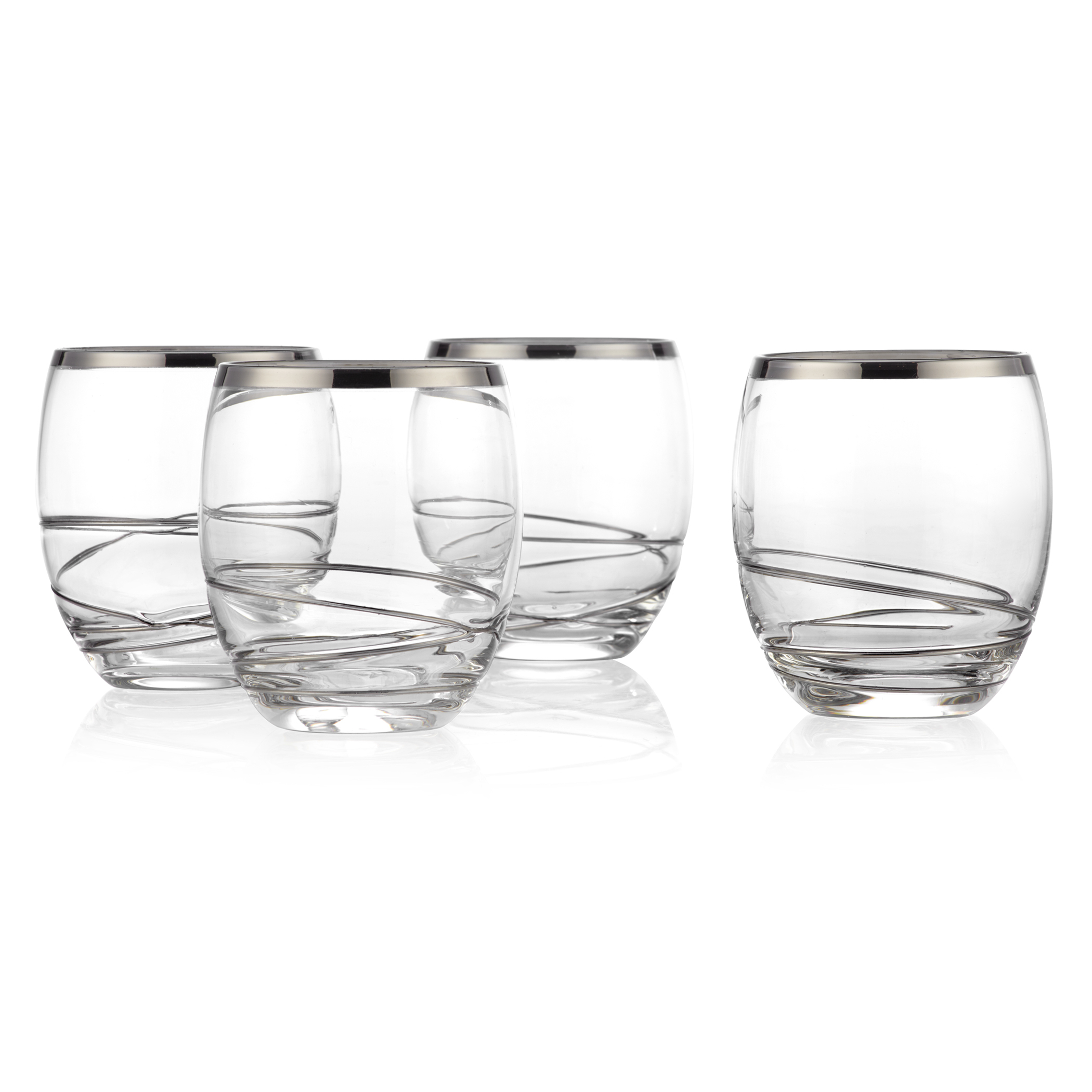double old-fashioned - set of 4