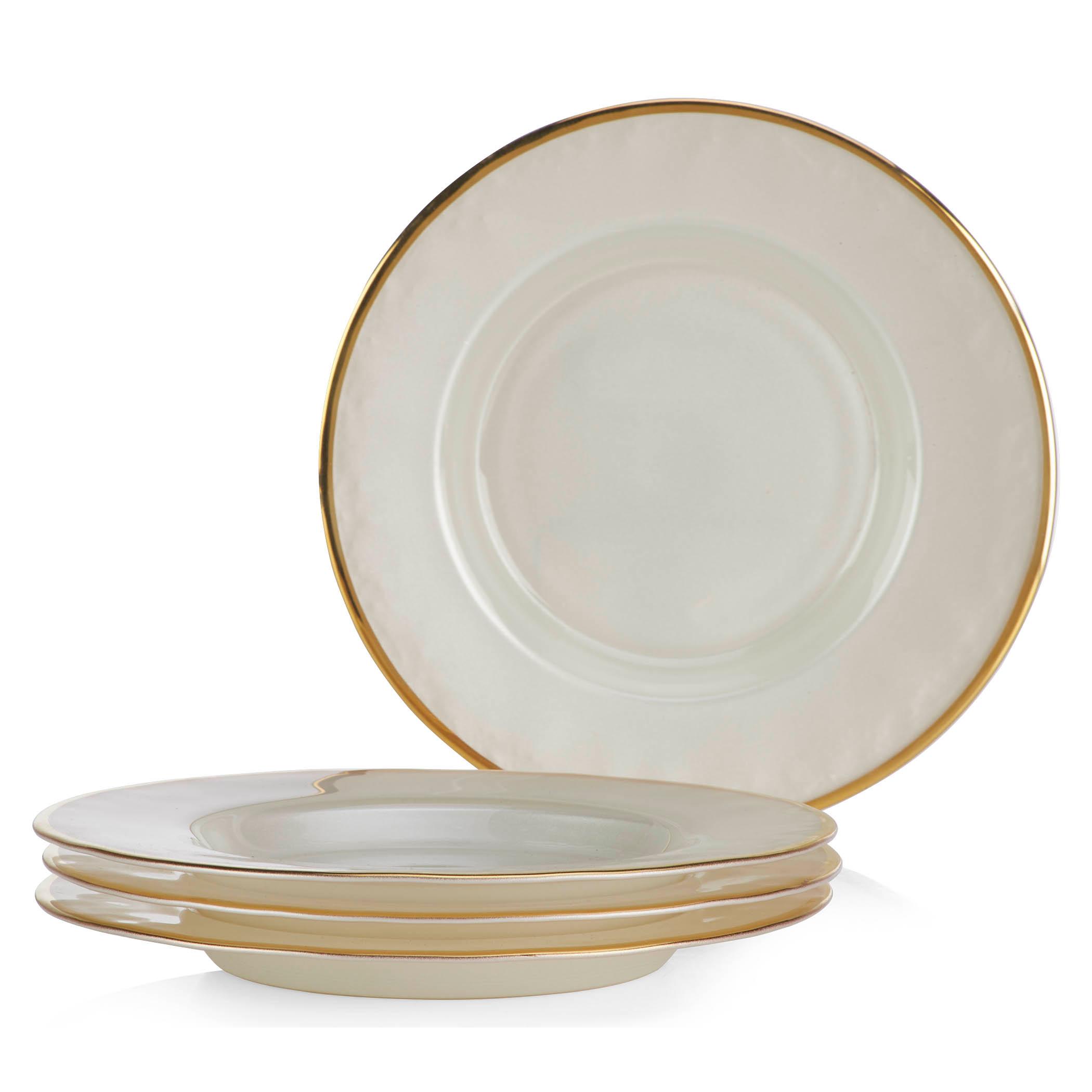 salad plate - set of 4