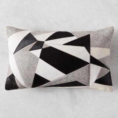 Mercer Hair On Hide Lumbar Pillow