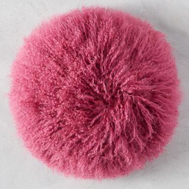 "Mongolian Round Pillow 18"""