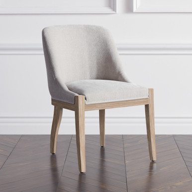 Lily Dining Chair - Wash Oak